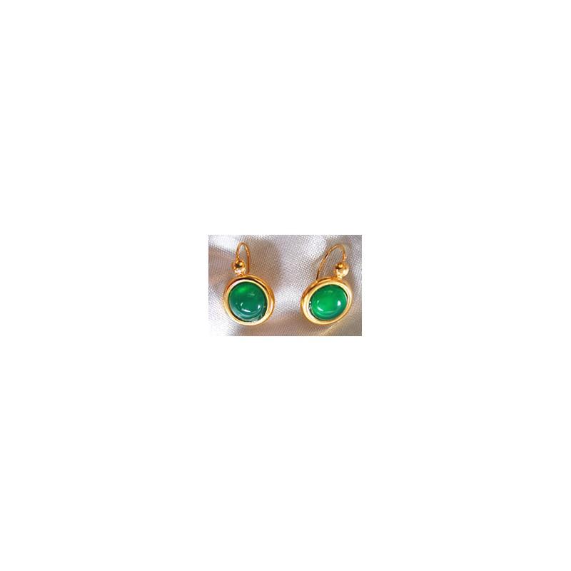 Boucles d'oreilles .Or 750/1000