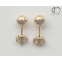 Boucles d'oreilles boules .Or 750/1000