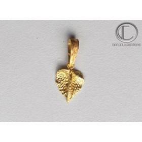 Pendentif Anthurium.Or 750/1000