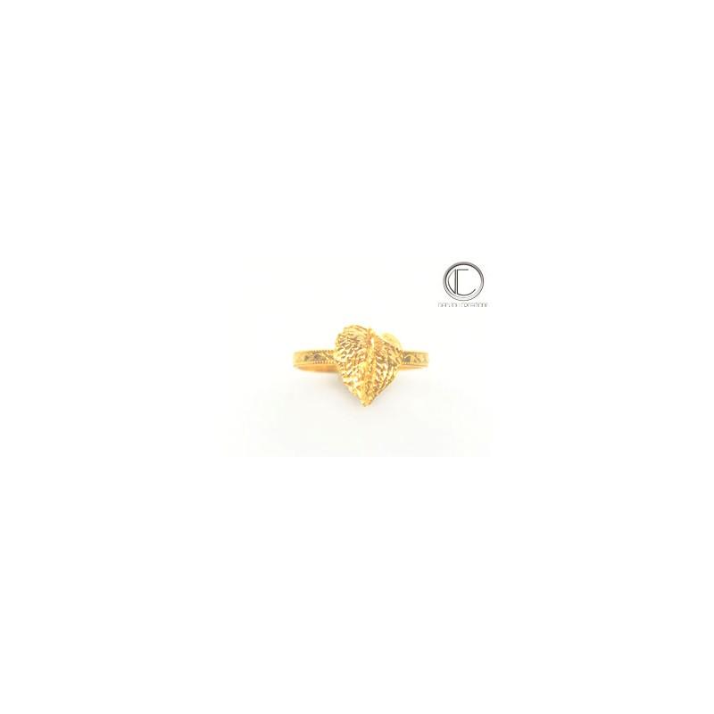 Humming bird Ring. Gold 750/1000