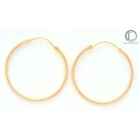 boucles d'oreilles creoles.Or 750/1000