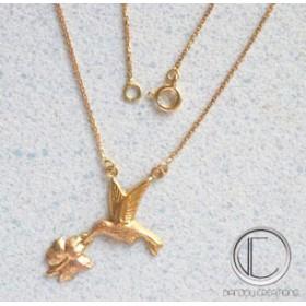 collier colilbri.Or 750/1000