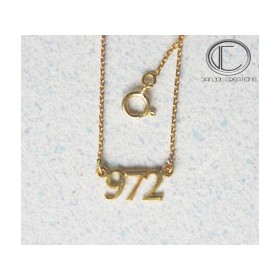 Collier 9 7 2.Or 750/1000