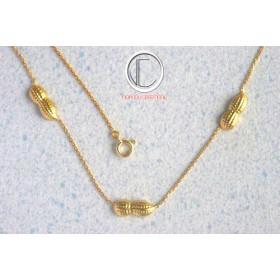 Peanuts Bracelet.750/1000 Gold