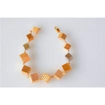 Bracelets cube.Or 18cts