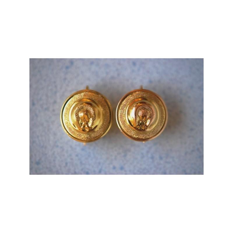 Hat earrings.gold 750/1000