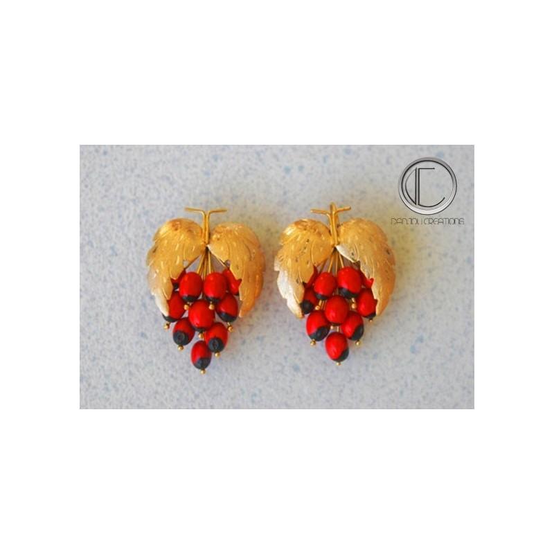 Boucles d' oreilles Regliss.OR 750/1000