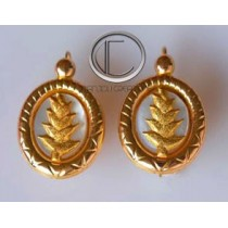 Balisier Earrings. Gold 750/1000