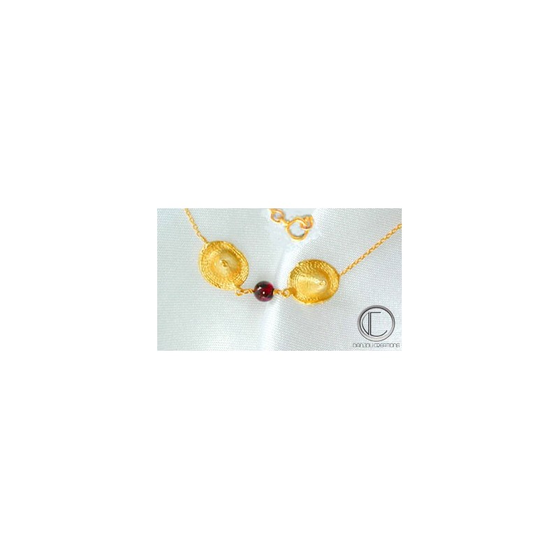 Bakoua Necklace.Gold 750/1000