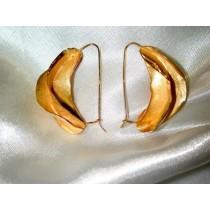 boucles d'oreilles carambole.Or 750/1000