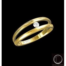 Bague Diamant Solitaire 750/1000