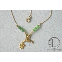 collier colibris. Or 750/1000