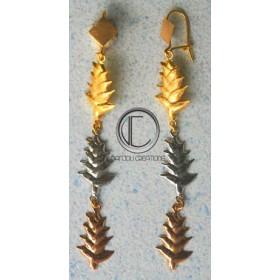 Boucles d'oreilles balisiers .OR 750/1000