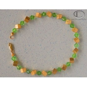Bracelet Cubes.Or 750/1000