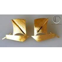 Boucles d'oreilles yoles.OR 750/1000