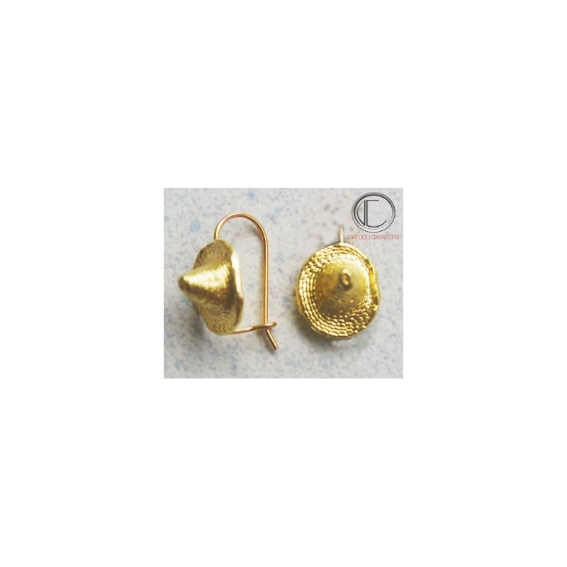 Bakoua earrings. Gold 750/1000
