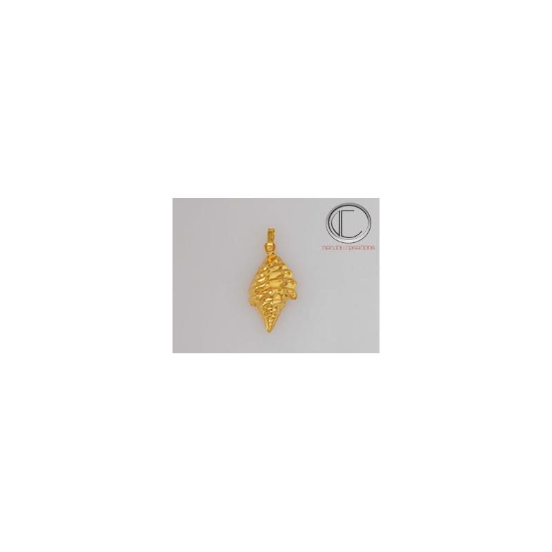 MediumConch pendant. Gold 750/1000