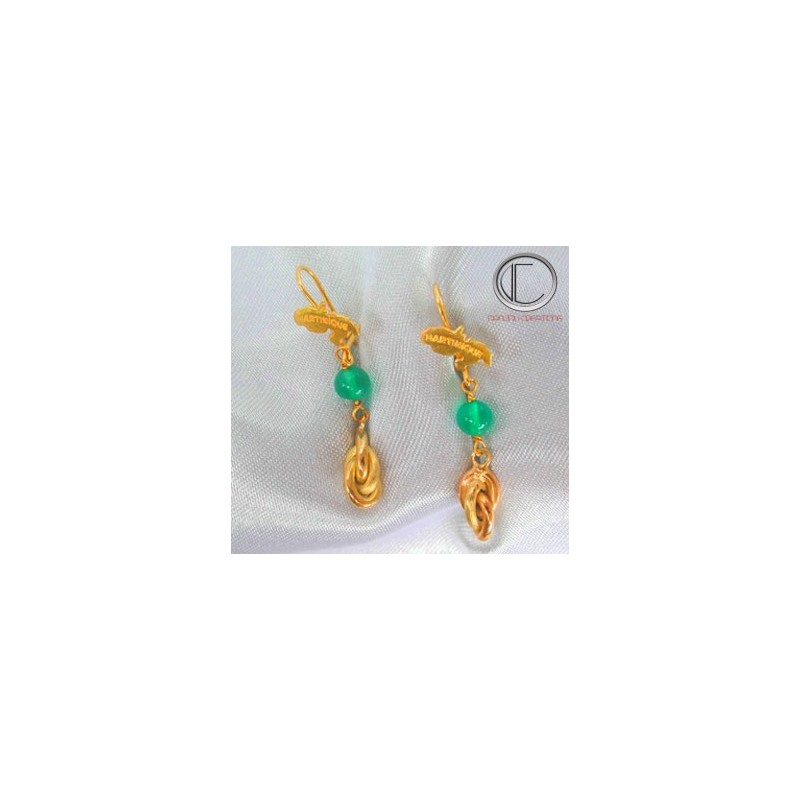 BOUCLES FORCATS .Or 750/1000