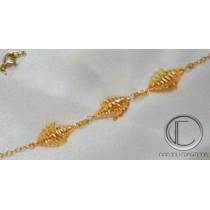CONCH BRACELET.750/100 Gold