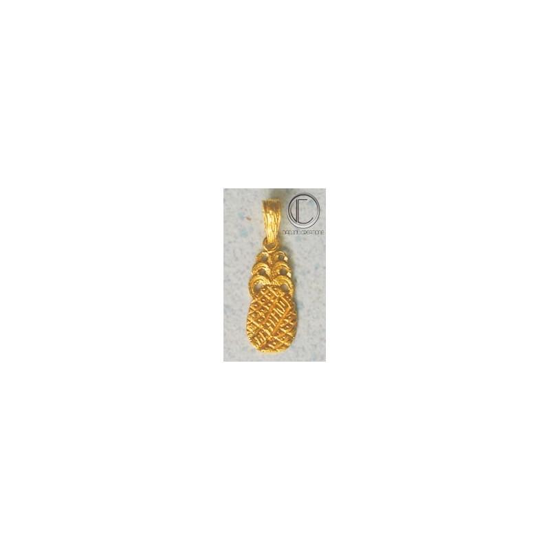 Pendentif Ananas.Or 750/1000