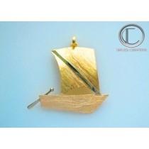 Skiff Pendant.Gold 750/1000