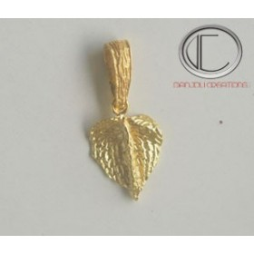 CARIBEEN HEAD PENDANTS.Gold 750/1000