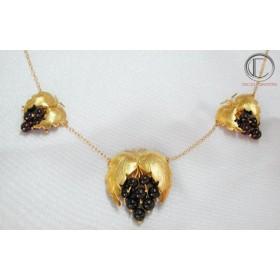 Vine necklace. Gold 750/1000