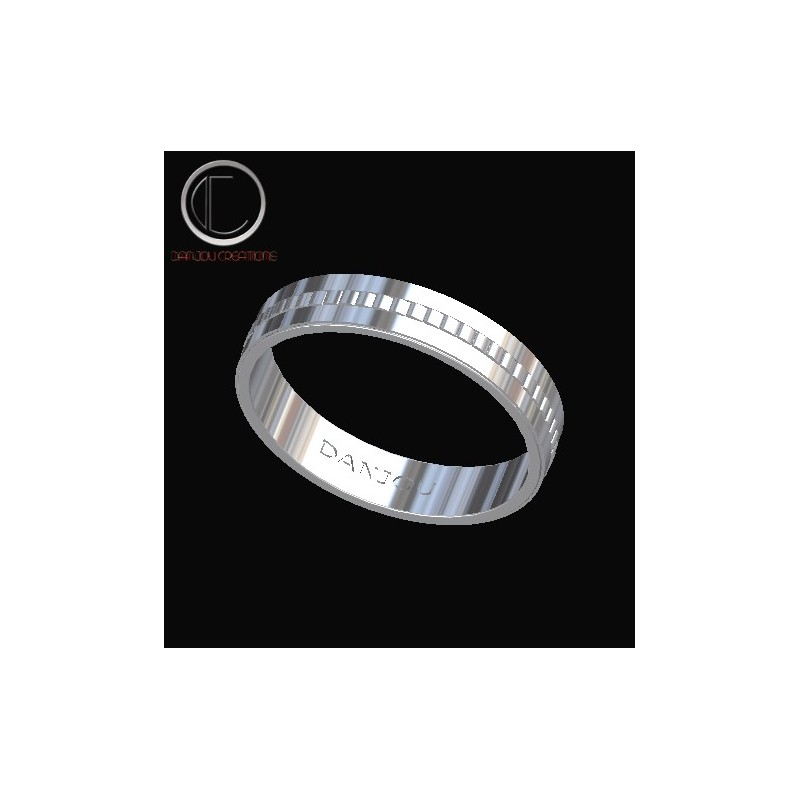 Wedding  ring. Gold 750/1000