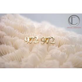 Pendientes 97.2.Or 750/1000