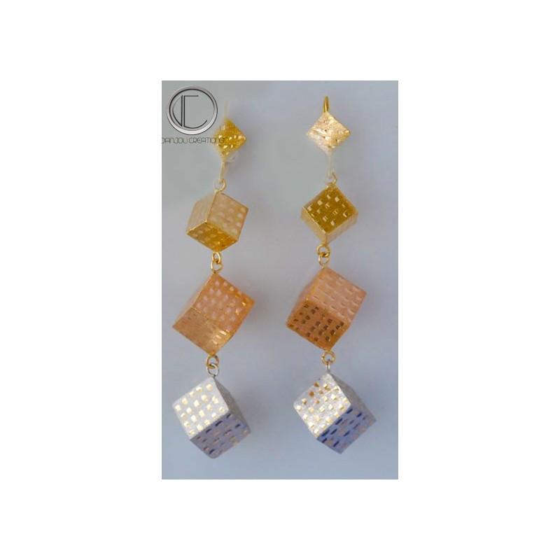 Cubis earrings.Or 750/1000