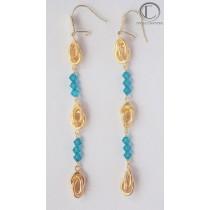 Convit Earrings.18cts Gold 750/1000