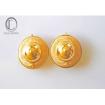 Hats Earrings.gold 750/1000