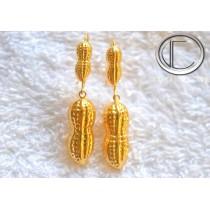 Boucles d' oreilles Cacahuetes .OR 750/1000