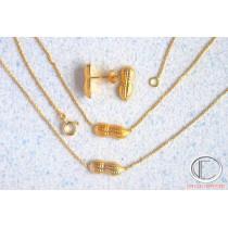 peanuts adorment.750/100o gold