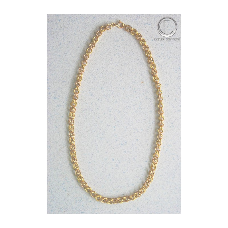 GROS-SIROP NECKLACE.750/1000 GOLD