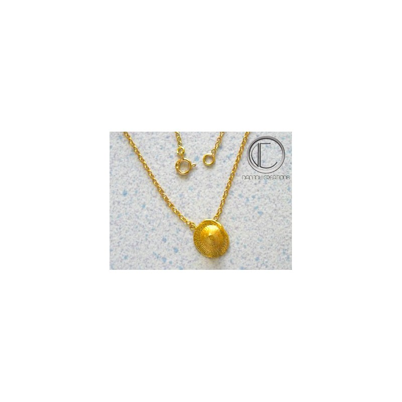 Bakoua necklace. gold 750/1000