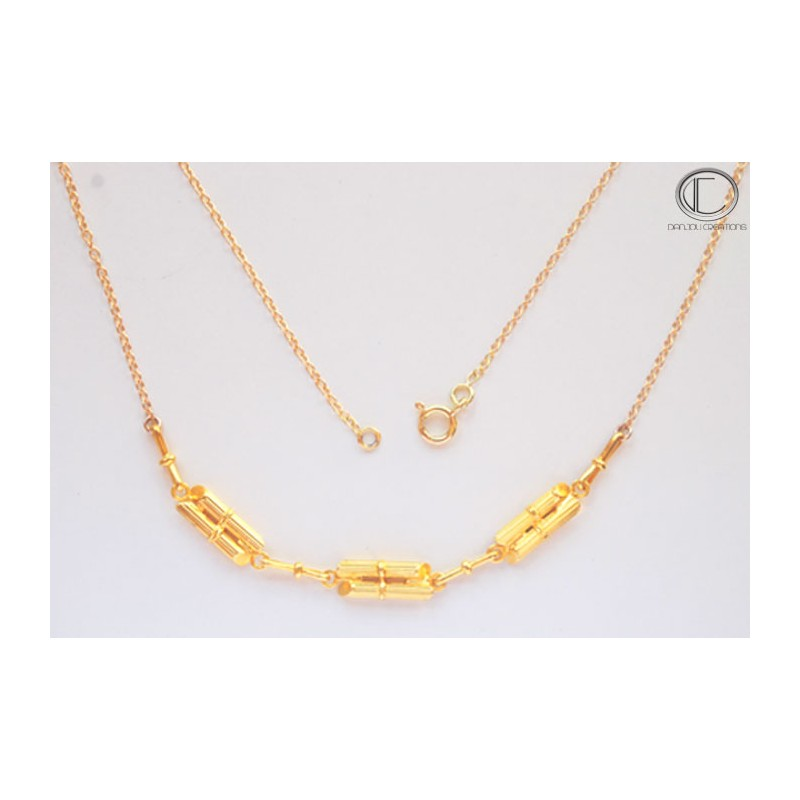 COLLIER  CANNES A SUCRE.OR 750/1000