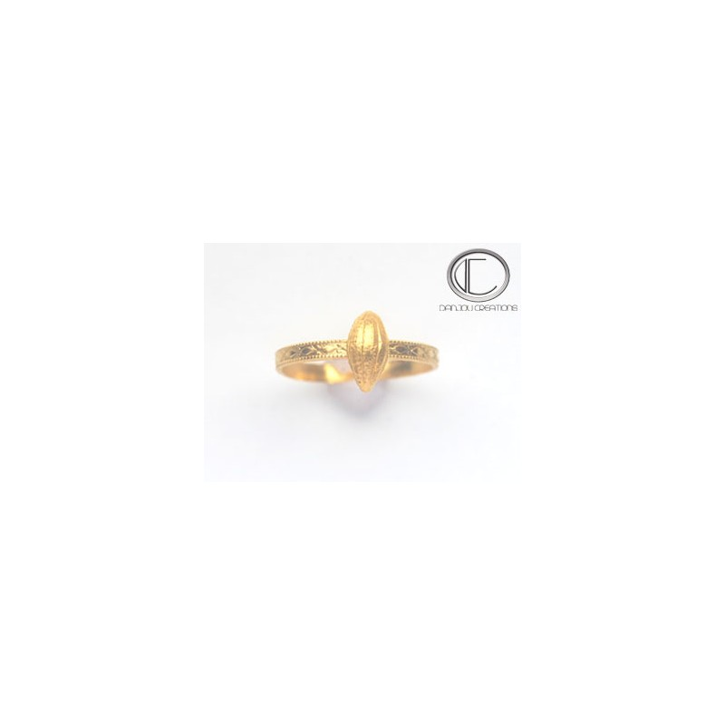 Conch Ring. Gold 750/1000
