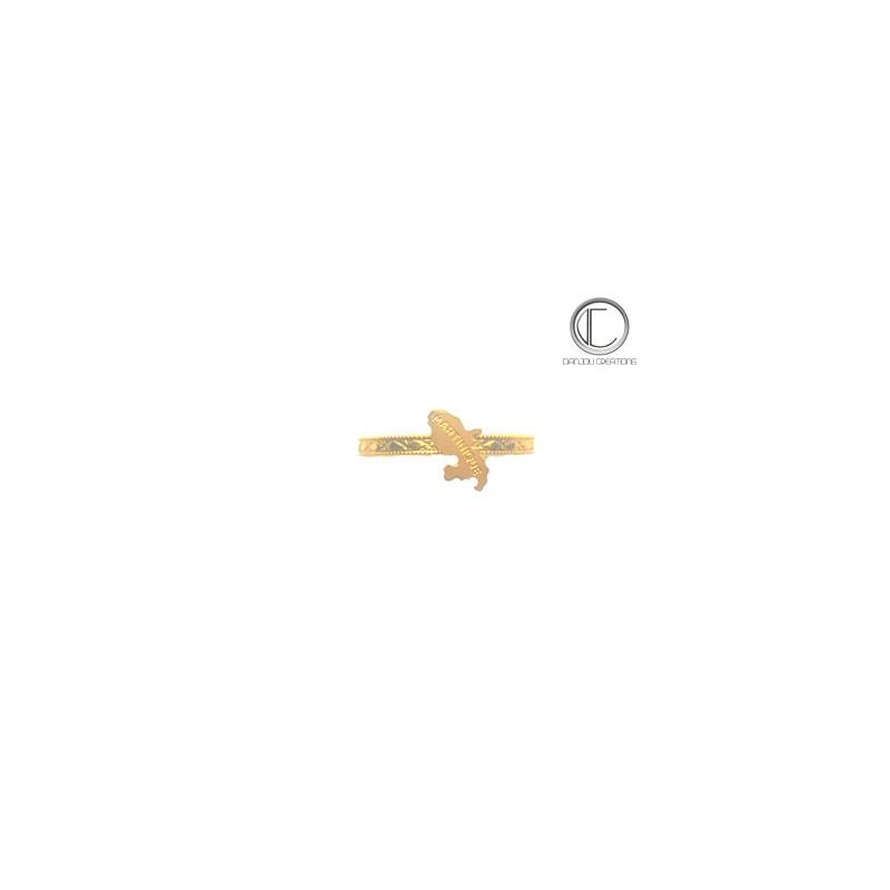 Bakoua ring. Gold 750/1000